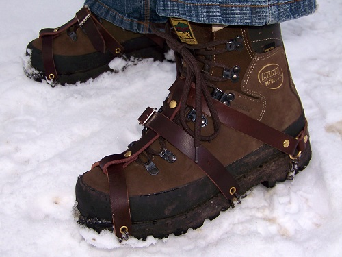 Shoes in the Snow