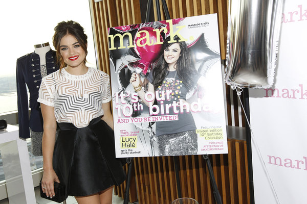Lucy Hale mark