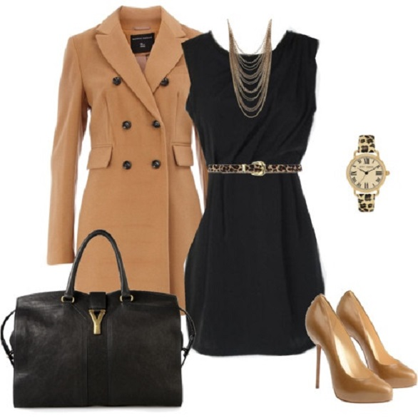 Black and Camel combination