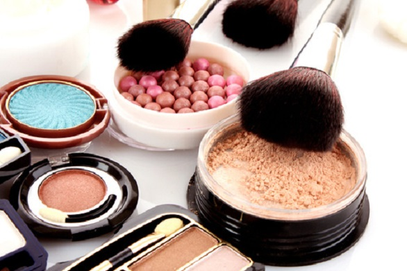 Gluten free makeup products