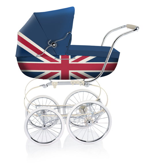 Inglesina wheelchair for the Royal Baby