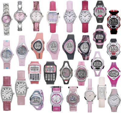 Variety of watches