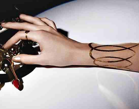 Chrsitain Dior Tattoo jewelry adorn london jewelry trends blog